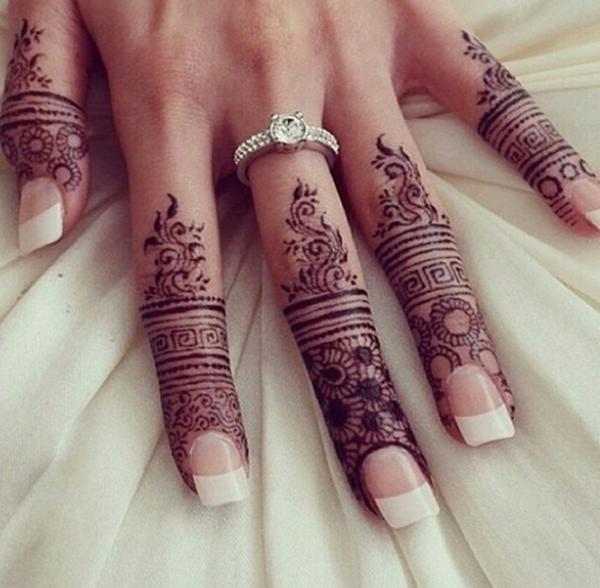 99 idéias bonitas do Tattoo do Henna para que as meninas
