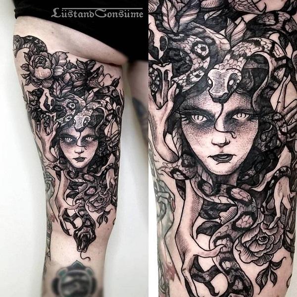 60 Encantador Medusa Tatuagens Para Experimentar Tatuagens Hd