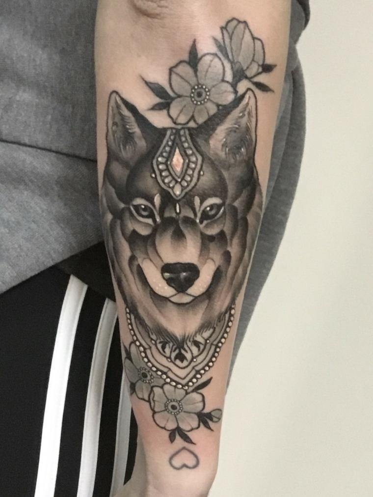 Tatuagens De Lobos Mais De 75 Idéias E Desenhos Dos