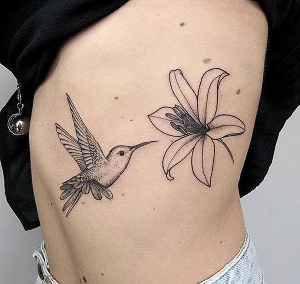 Desenhos De Tatuagem Linda Beija-flor » Tatuagens HD