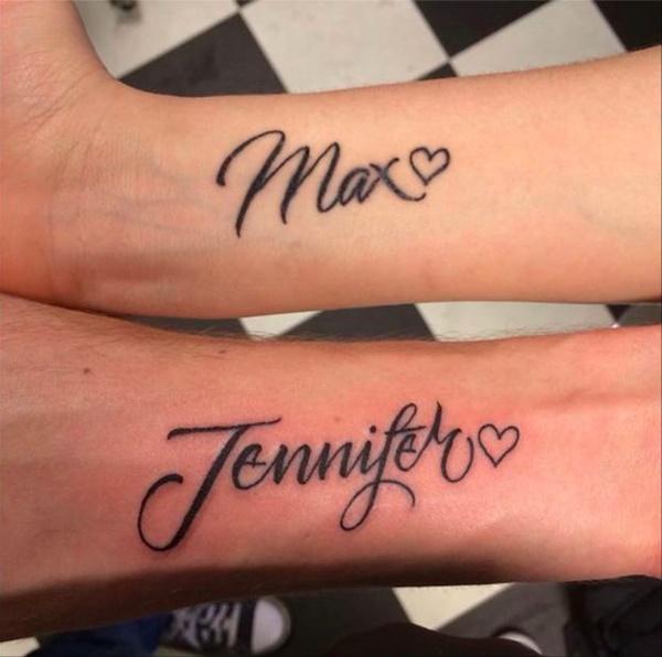90 Tatuagens De Nome Que Você Vai Ter Gritando Qual é O Meu
