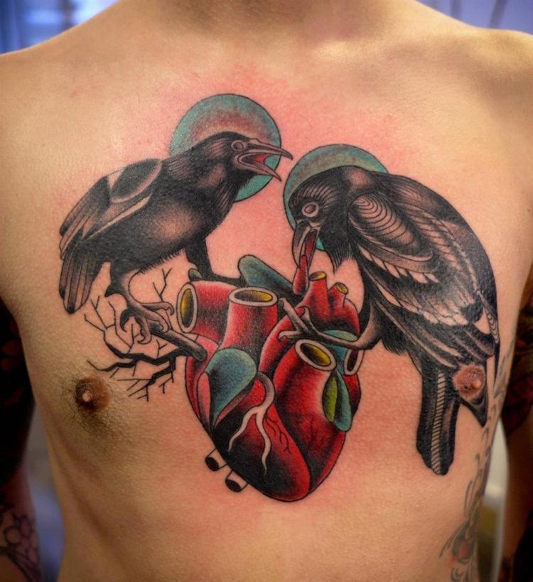 Tatuagens No Peito Mais De 20 Designs Para Homens border=