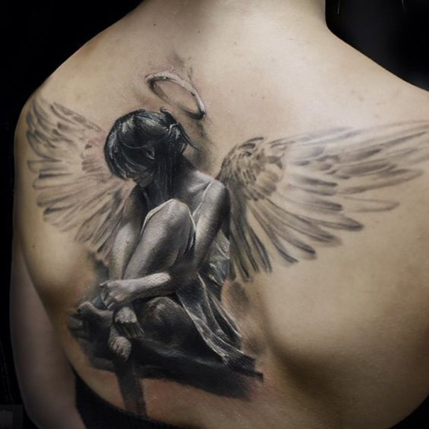 Tatuagens Populares Do Anjo Tatuagens Hd