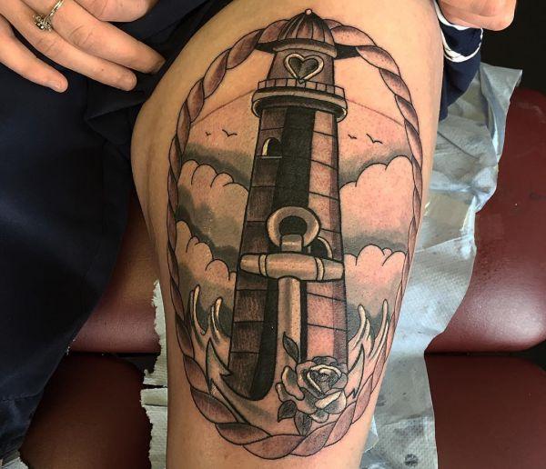 Motivos De Tatuagem De Farol Idéias E Significados