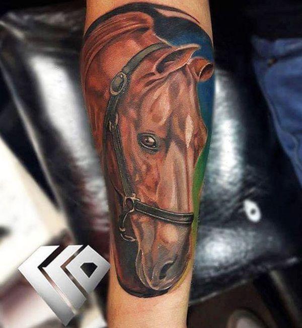 Desenhos De Tatuagem De Cavalo Com Significados 35 Ideias