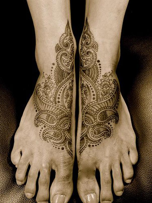 Desenhos De Tatuagem Paisley Para Mulheres Tatuagens Hd