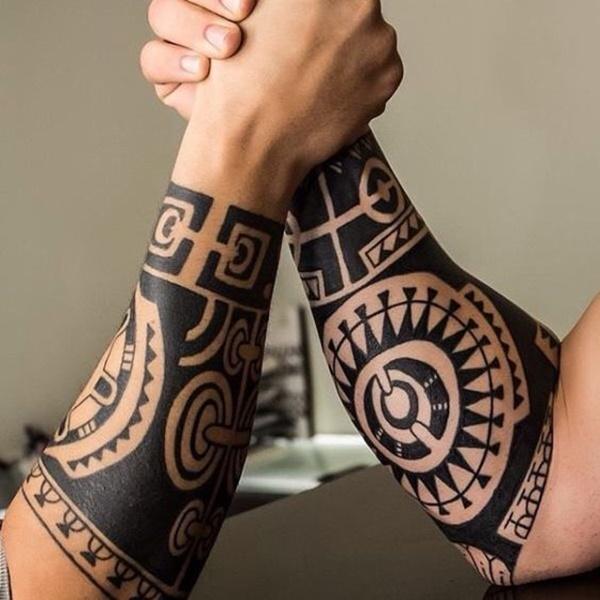13ef1e9b7 81 tatuagens maori tribais para a inspiração » Tatuagens HD