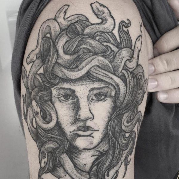 Tatuagens Medusa 20 Idéias Com Significado Tatuagens Hd