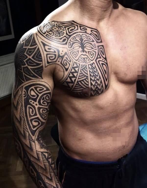 40 Desenhos De Tatuagem Tribal Mais Exigentes Tatuagens Hd
