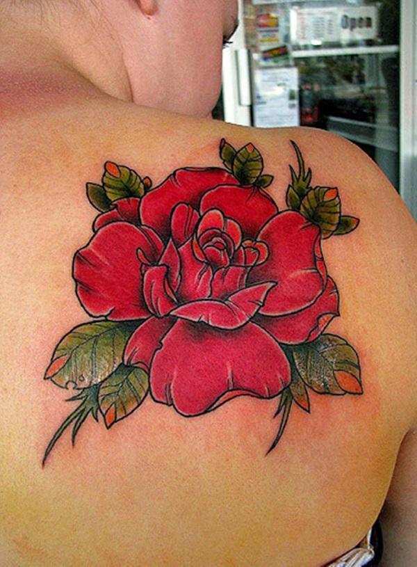 35 Lindos Desenhos De Tatuagem De Rosa E Significados