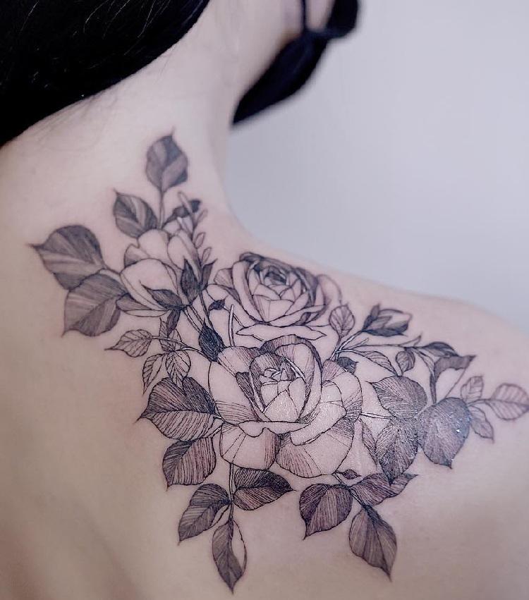 Rose Tatuagens Ideias Desenhos E Significado Tatuagens Hd