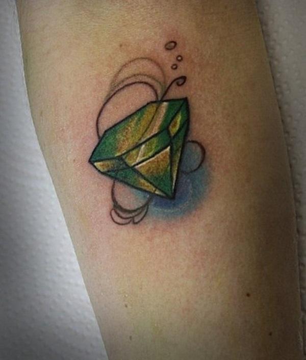 Desenhos E Significados Bonitos Da Tatuagem Do Diamante